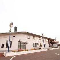 *外観/道の駅に併設された、絶景と温泉そして日本海の海の幸が堪能できる公共の宿!