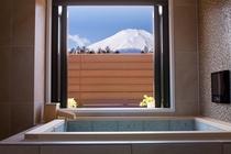 富士山が見える貸切風呂B