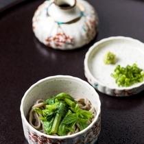 【山菜蕎麦】