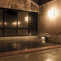 【檜風呂-夜-】