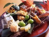 【料理】秋を感じる芹生の八寸