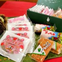 *【遠軽銘菓/一例】ガトー・ロバ(洋菓子店)さんのお土産『Aセット』の一例です。