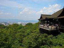 清水寺へは市バスで清水坂まで15分、混んでるときは京阪電車でどうぞ