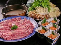 すき焼きお肉食べ放題プラン