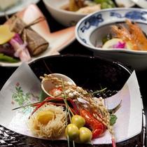 【かも川コース】秋のお料理一例