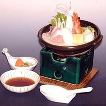いしちょう名物「東寺鍋」