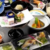 【かも川コース】夏のお料理一例