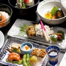 【みやびコース】夏のお料理一例