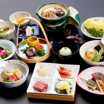【かも川コース2017】春メニューの一例♪京都に来たら…京会席を!楽しんでください
