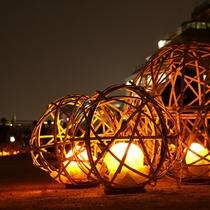 【京の七夕】鴨川会場の風鈴灯。京の夏の新しい風物詩をお楽しみ下さい。