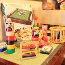*お部屋でワイワイ盛り上がれる。あると嬉しいゲーム各種も貸し出ししております。