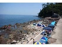 琴ヶ浜海岸