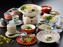 【ふぐ会席】お手軽にふぐを味わうプランです♪ ※お食事一例となっております。
