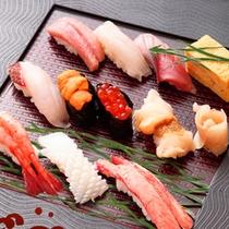 【極み寿司】付き宿泊プラン