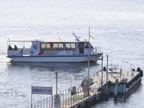 清水港から福田家へ遊覧船で