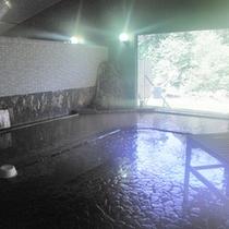 *【大浴場】広々大浴場で手足を伸ばして温泉浴。