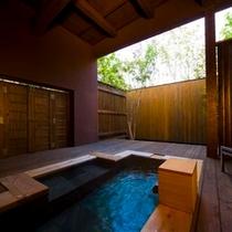 客室専用風呂一例:山桃