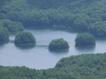 高岳から眺めた聖湖