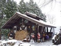 冬_正直村コーヒーショップ。