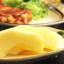 料理_夕食_冬_デザート(りんご)
