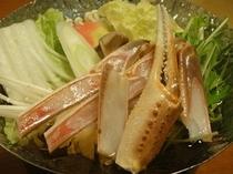 蟹すき小鍋