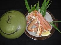 蟹陶板焼(1人前)