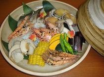 海鮮宝楽焼