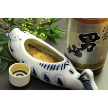 日本酒に岩魚の香ばしいうまみがたまらない…