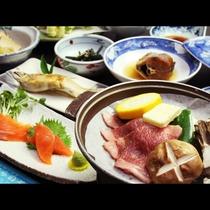 お料理グレードアップ!ひらのやグルメプラン♪鮎の塩焼き×和牛の陶板焼き