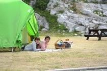 キャンプ場画像
