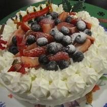 ケーキでにっこり♪ アニバーサリーなどにぜひ♪