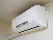 【客室備品】≪ご注意≫エアコンが付いているのは洋室のみです。