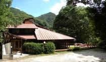 昇仙峡渓谷ホテル全景
