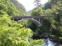 昇仙峡入り口の長潭橋からガイドさせていただきます。