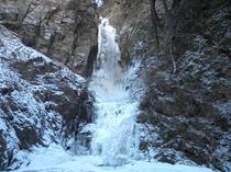 大滝の氷爆