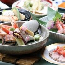 【夕食グレードUP】海鮮宝楽焼イメージ