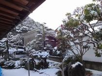 糸島の雪景色