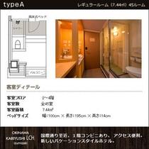 ■レギュラールーム(全室禁煙)