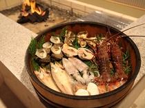 国崎かまど料理一例