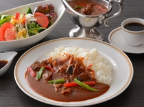 ハヤシライス(昼食一例)/レストラン