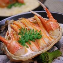 香住蟹のホイル焼き