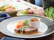 金閣コース 肉料理