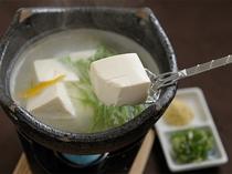 ランチストップ(湯豆腐)