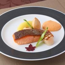 【秋の京風フレンチフルコース】魚料理
