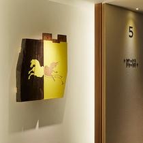 エレベーターホール5F