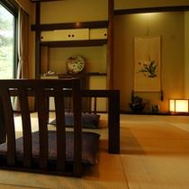 【茶室風和室「あずま」】洗練された和の空間で二人の心安らぐひとときを。リーズナブルな価格も嬉しい