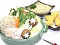 和風旅館扇松園特製そば鍋