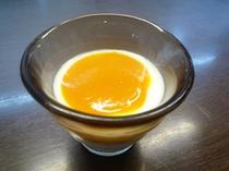 特製かぼちゃソースのヨーグルト