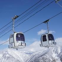 一里野スキー場 ゴンドラ