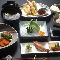10 [料理] 夕食(1):地のものを使った和食